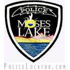 Moses Lake Police Department Patch