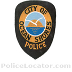 Ocean Shores Police Department Patch