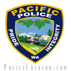Pacific Police Department Patch