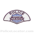 Pasco Police Department Patch