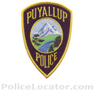 Puyallup Police Department Patch