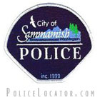 Sammamish Police Department Patch