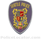 Seattle Police Department Patch