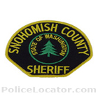 Snohomish County Sheriff's Office Patch