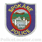 Spokane Police Department Patch