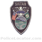 Sultan Police Department Patch