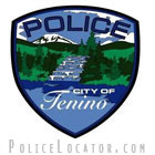 Tenino Police Department Patch