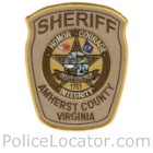 Amherst County Sheriff's Office Patch