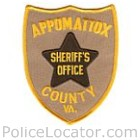 Appomattox County Sheriff's Department Patch