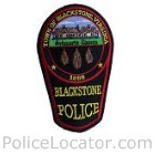 Blackstone Police Department Patch