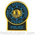 Christiansburg Police Department Patch