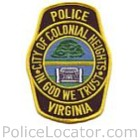 Colonial Heights Police Department Patch