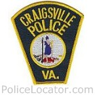 Craigsville Police Department Patch