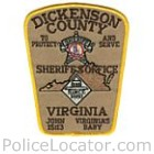 Dickenson County Sheriff's Office Patch
