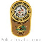 Dinwiddie County Sheriff's Office Patch
