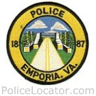 Emporia Police Department Patch