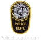 Gate City Police Department Patch