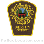 Hanover County Sheriff's Office Patch