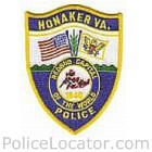 Honaker Police Department Patch