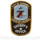 Hopewell Sheriff's Office Patch