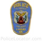 Luray Police Department Patch