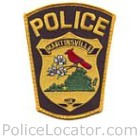 Martinsville Police Department Patch