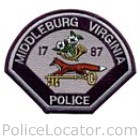 Middleburg Police Department Patch