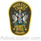 Middlesex County Sheriff's Office Patch