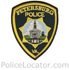 Petersburg Police Department Patch