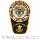 Pittsylvania County Sheriff's Office Patch