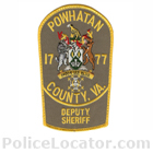 Powhatan County Sheriff's Office Patch
