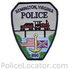 Remington Police Department Patch
