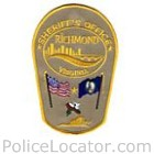 Richmond City Sheriff's Office Patch