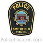 Smithfield Police Department Patch