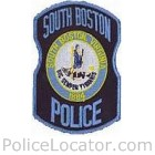 South Boston Police Department Patch
