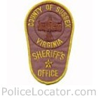Sussex County Sheriff's Office Patch