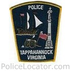 Tappahannock Police Department Patch