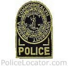Virginia Commonwealth University Police Patch