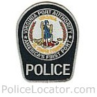 Virginia Port Authority Police Patch