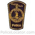 Virginia Tech Police Department Patch