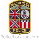 Winchester Police Department Patch