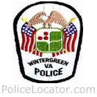 Wintergeen Police Department Patch