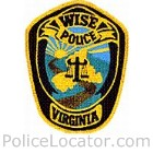 Wise Police Department Patch
