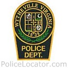 Wytheville Police Department Patch