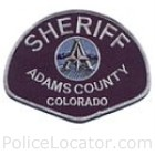 Adams County Sheriff's Office Patch