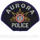 Aurora Police Department Patch