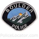 Boulder Police Department Patch