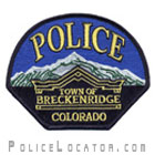 Breckenridge Police Department Patch