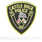 Castle Rock Police Department Patch