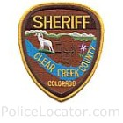 Clear Creek County Sheriff's Office Patch